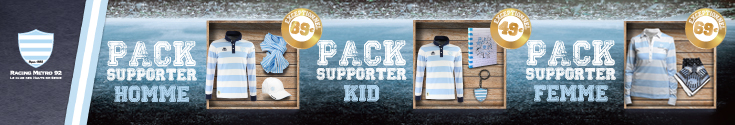 Kit supporter Coupe d'europe