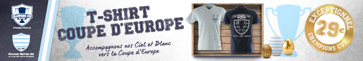 T-shirt Coupe d'europe