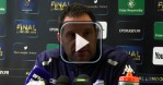 OSP vs RM 92 - L. Labit ''Jusqu'� pr�sent, le match le plus important de la saison''